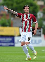Exeter City's Will Hoskins- Photo mandatory by-line: Harry Trump/JMP - Mobile: 07966 386802 - 18/07/15 - SPORT - FOOTBALL - Pre Season Fixture - Exeter City v Bournemouth - St James Park, Exeter, England.
