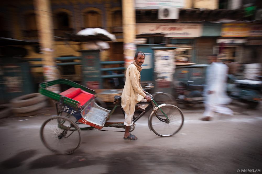 Bicycle Rickshaw - Old Delhi, India