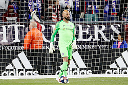 May 15, 2019 - Foxborough, MA, U.S. - FOXBOROUGH, MA - MAY 15: Chelsea FC goalkeeper Willy Caballero (13) ills time during the Final Whistle on Hate match between the New England Revolution and Chelsea Football Club on May 15, 2019, at Gillette Stadium in Foxborough, Massachusetts. (Photo by Fred Kfoury III/Icon Sportswire) (Credit Image: © Fred Kfoury Iii/Icon SMI via ZUMA Press)