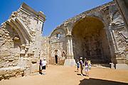 Great Stone Church, Mission San Juan Capistrano, Historic Downtown San Juan Capistrano, Orange County, California, USA