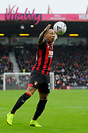 Nathaniel Clyne (23) of AFC Bournemouth controls the ball during the The FA Cup 3rd round match between Bournemouth and Brighton and Hove Albion at the Vitality Stadium, Bournemouth, England on 5 January 2019.