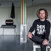 Nederland, Amsterdam, 8 juni 2017.<br />Pianist, componist Matteo Mijderwijk<br /><br /><br /><br />Foto: Jean-Pierre Jans