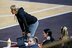 Marjeta Marton - Veber, head coach of RK Olimpija during handball match between RK Olimpija and RK Krim Mercator in Round #13 of National Youth League in Season 2020-21, on May 23, 2021 in Hala Tivoli, Ljubljana, Slovenia. Photo by Matic Klansek Velej / Sportida