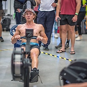 Michael Brake 5000m Heavyweight 5K race 10:30am<br /> <br /> <br /> www.rowingcelebration.com Competing on Concept 2 ergometers at the 2018 NZ Indoor Rowing Championships. Avanti Drome, Cambridge,  Saturday 24 November 2018 © Copyright photo Steve McArthur / @RowingCelebration