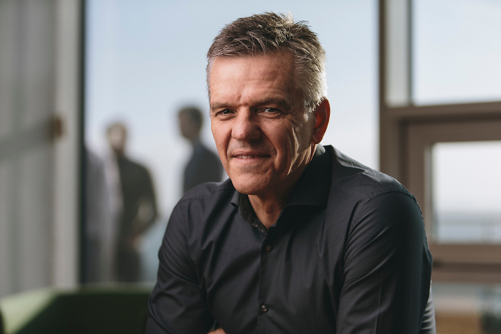 Wednesday 15th February 2017, Aberdeen, Scotland.  Chris Cox was appointed Managing Director, Exploration & Production on 1 February 2016. <br /> Chris has over 30 years' extensive experience in global oil and gas upstream activities with deep knowledge of a broad range of disciplines.  Since 2006 and prior to his appointment with Centrica, he held a number of senior roles at BG Group plc and was latterly the executive vice president, BG Advance and a member of the group executive team.  Before BG Group plc, Chris was with both Amerada Hess and Chevron Corporation in a variety of technical, commercial and management roles in a number of international settings.<br /> <br /> Pictured: Chris Cox, Managing Director, Exploration & Production Centrica<br /> <br /> (Photo: Ross Johnston/Newsline Media)
