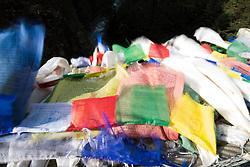 """THEMENBILD - Hillary-Brücke über dem Fluss Dudhkoshi. Wanderung im Sagarmatha National Park in Nepal, in dem sich auch sein Namensgeber, der Mount Everest, befinden. In Nepali heißt der Everest Sagarmatha, was übersetzt """"Stirn des Himmels"""" bedeutet. Die Wanderung führte von Lukla über Namche Bazar und Gokyo bis ins Everest Base Camp und zum Gipfel des 6189m hohen Island Peak. Aufgenommen am 08.05.2018 in Nepal // Trekkingtour in the Sagarmatha National Park. Nepal on 2018/05/08. EXPA Pictures © 2018, PhotoCredit: EXPA/ Michael Gruber"""