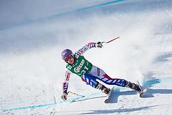 12.01.2013, Karl Schranz Abfahrt, St. Anton, AUT, FIS Weltcup Ski Alpin, Abfahrt, Damen im Bild Tessa Worley (FRA) // Tessa Worley of France in action during ladies Downhill of the FIS Ski Alpine World Cup at the Karl Schranz course, St. Anton, Austria on 2013/01/12. EXPA Pictures © 2013, PhotoCredit: EXPA/ Johann Groder