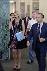 United Nations, New York, USA, July 28 2017 - Ivanka Trumps Has Private Lunch With UN Secretary General Antonio Guterres today at the UN Headquarters in New York. (Photo by Luiz Rampelotto/EuropaNewswire) *** Please Use Credit from Credit Field ***