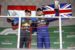 November 17, 2019, Sao Paulo, Brazil: Motorsports: FIA Formula One World Championship 2019, Grand Prix of Brazil, . #33 Max Verstappen (NLD, Aston Martin Red Bull Racing), .#10 Pierre Gasly (FRA, Red Bull Toro Rosso Honda) (Credit Image: © Hoch Zwei via ZUMA Wire)