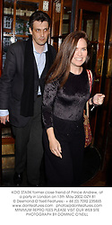 KOO STARK former close friend of Prince Andrew, at a party in London on 13th May 2002.OZY 81