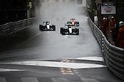 May 25-29, 2016: Monaco Grand Prix. Nico Rosberg  (GER), Mercedes, Lewis Hamilton (GBR), Mercedes