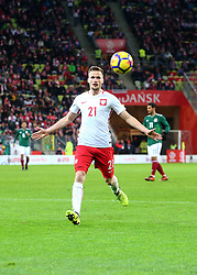 November 13, 2017 - Gdansk, Poland - Tomasz Kedziora during the international friendly soccer match between Poland and Mexico at the Energa Stadium in Gdansk, Poland on 13 November 2017  (Credit Image: © Mateusz Wlodarczyk/NurPhoto via ZUMA Press)