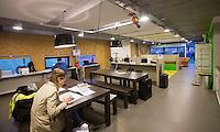 AMSTERDAM - Hockey - perskamer in clubhuis AthenA.    Interland tussen de vrouwen van Nederland en Groot-Brittannië, in de Rabo Super Serie 2016 .  COPYRIGHT KOEN SUYK