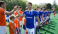 BLOEMENDAAL -   .Jip Jansen van Kampong   voor de   de play offs heren hoofdklasse Bloemendaal-Kampong (2-3) .  COPYRIGHT KOEN SUYK