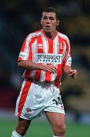 Hugh McAuley (Cheltenham Town). Watford v Cheltenham, League Cup 1st Round,  22/8/00. Credit Colorsport / Matthew Impey