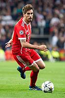 Bayern Munich Javi Martinez during Semi Finals UEFA Champions League match between Real Madrid and Bayern Munich at Santiago Bernabeu Stadium in Madrid, Spain. May 01, 2018. (ALTERPHOTOS/Borja B.Hojas)