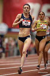 2020 USATF Indoor Championship<br /> Albuquerque, NM 2020-02-15<br /> photo credit: © 2020 Kevin Morris<br /> womens 800m, Saucony