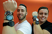 Founders of MVMT Watches.