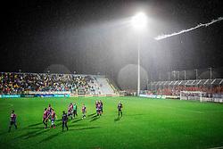 Players of Hajduk after the football match between HNK Rijeka and HNK Hajduk Split in Round #15 of 1st HNL League 2016/17, on November 5, 2016 in Rujevica stadium, Rijeka, Croatia. Photo by Vid Ponikvar / Sportida