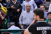 DESCRIZIONE : Beko Legabasket Serie A 2015- 2016 Dinamo Banco di Sardegna Sassari - Pasta Reggia Juve Caserta<br /> GIOCATORE : Massimo Deiana Assessore Trasporti Sardegna<br /> CATEGORIA : Postgame Tifosi Pubblico Spettatori VIP<br /> SQUADRA : Dinamo Banco di Sardegna Sassari<br /> EVENTO : Beko Legabasket Serie A 2015-2016<br /> GARA : Dinamo Banco di Sardegna Sassari - Pasta Reggia Juve Caserta<br /> DATA : 03/04/2016<br /> SPORT : Pallacanestro <br /> AUTORE : Agenzia Ciamillo-Castoria/L.Canu