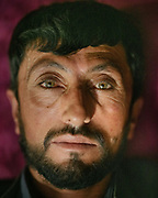 Portrait of Khon Jon.  The traditional life of the Wakhi people, in the Wakhan corridor, amongst the Pamir mountains.