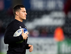 Shaun Venter of Ospreys during the pre match warm up<br /> <br /> Photographer Simon King/Replay Images<br /> <br /> European Rugby Champions Cup Round 1 - Ospreys v Munster - Saturday 16th November 2019 - Liberty Stadium - Swansea<br /> <br /> World Copyright © Replay Images . All rights reserved. info@replayimages.co.uk - http://replayimages.co.uk