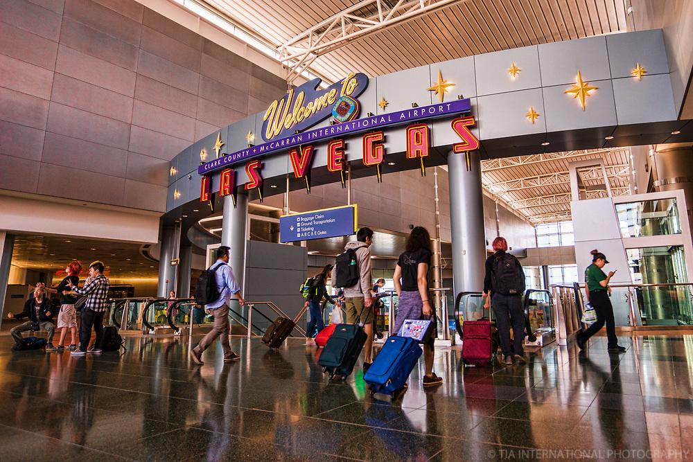 Las Vegas McCarran International Airport Terminal