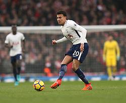 18 November 2017 London : Premier League Football : Arsenal v Tottenham Hotspur - Dele Alli of Tottenham.<br /> (photo by Mark Leech)