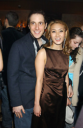 BRUCE WILPON and his wife  YUKI OSHIMA-WILPON , he is the son of Fred Wilpon, the New York multimillionaire real-estate developer who the New York Mets baseball team at a party hosted by Daniella Helayel of fashion label ISSA held at Taman Gang, 141 Park Lane, London on 15th February 2006.<br /><br />NON EXCLUSIVE - WORLD RIGHTS