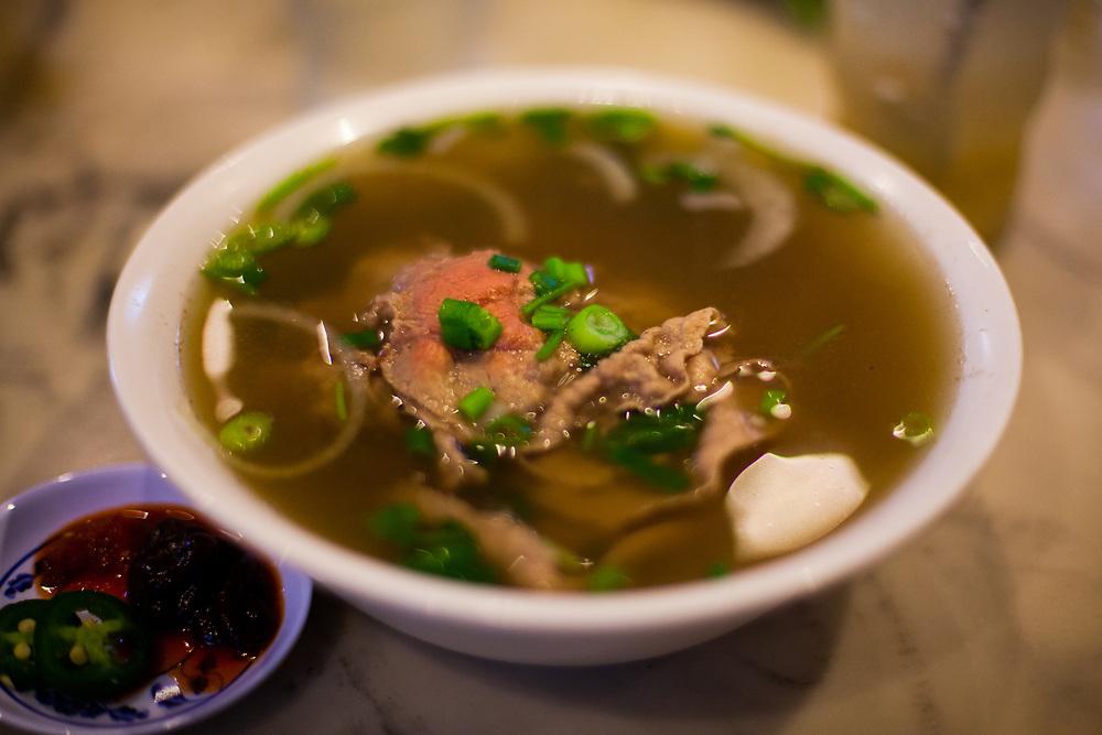 Beef Phó at Pho Bang ($7.00)