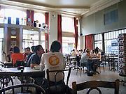 Belgie, Gent, 8-9-2005..Theater, cafe van Vooruit...Foto: Flip Franssen/Hollandse Hoogte