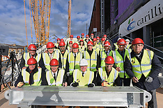 160211 Main Stand Topping Out