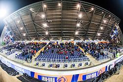 South stand, Falkirk Stadium..Falkirk 1 v 1 Raith Rovers, 5/3/2013.