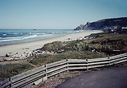 CS01147-09. Beach below Otter Crest. May 1975