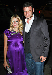 """Naomi Watts and Liev Schreiber at a screening of """"Filth and Wisdom"""".<br /> (NYC)"""