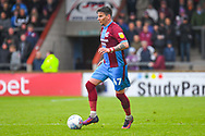 Adam Hammill of Scunthorpe United (47) in action during the EFL Sky Bet League 1 match between Scunthorpe United and Bradford City at Glanford Park, Scunthorpe, England on 27 April 2019.