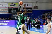 Thomas Scrubb<br /> Betaland Capo d'Orlando - Sidigas Avellino <br /> Campionato Basket Lega A 2017-18 <br /> Capo d'Orlando 22/04/2018<br /> Foto Ciamillo-Castoria