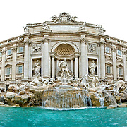 ROME, Italy - High resolution image of Fontana di Trevi (Trevi Fountain), Rome