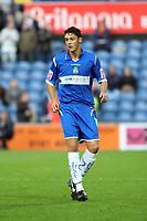 Matty Mainwaring. Stockport County FC 1-0 Port Vale FC. Johnstones Paint Trophy. Edgeley Park. 2.9.08