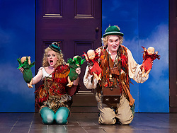 The Magic Flute <br /> Music by Mozart <br /> Welsh National Opera, Wales Millennium Centre, Cardiff, Wales, Great Britain <br /> 13th February 2019 <br /> Directed by Dominic Cooke <br /> <br /> <br /> Mark Stone as Papageno<br /> Claire Hampton as Papagena<br /> <br /> Photograph by Elliott Franks