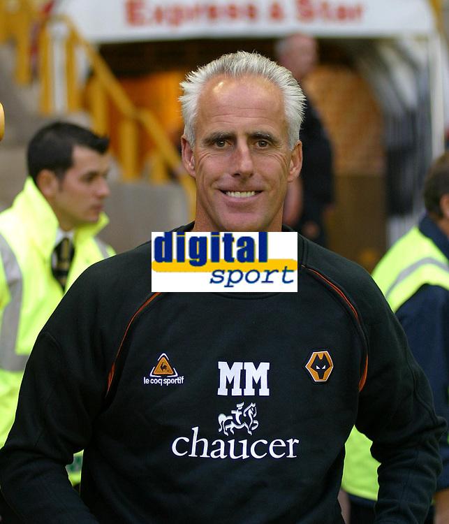 Photo: Dave Linney.<br />Wolverhampton Wanderers v Preston North End. Coca Cola Championship. 11/08/2006New Wolves Boss.Mick McCarthy