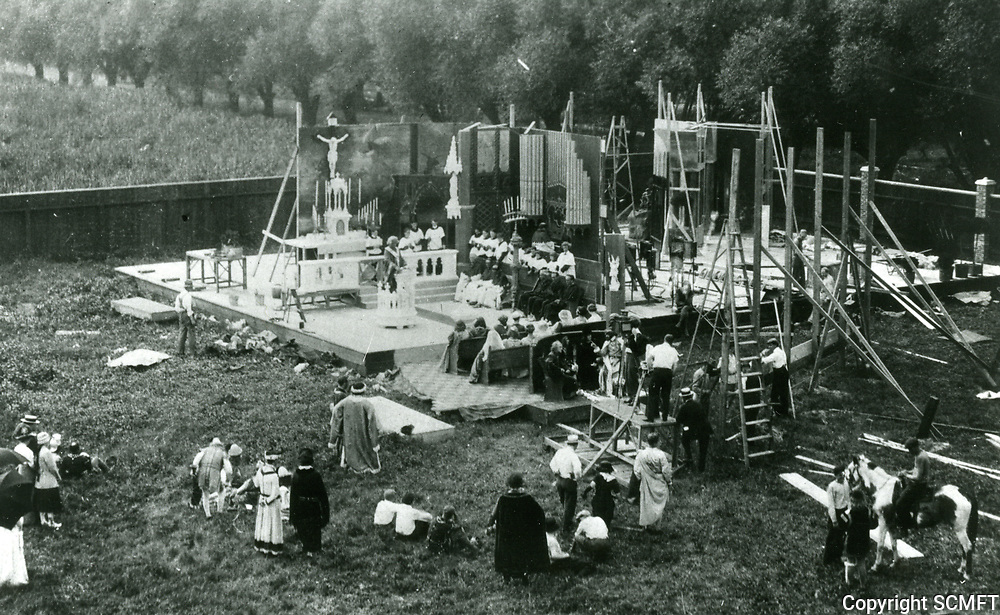 1913 Filming at Essanay Studios in Chicago