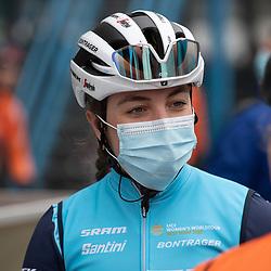 10-03-2021: Wielrennen: Healthy Ageing Tour: Assen <br />Shirin van Anrooij