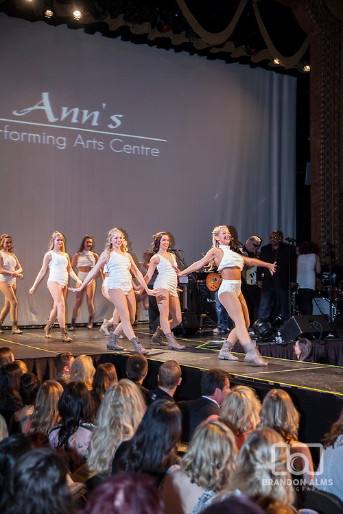 Ann's Dance Team performing at 417 Magazine's 2015 Fashionation Event.