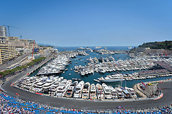 MONACO, May 28, 2017  Formula One cars are seen during the qualification session of the Formula One Monaco Grand Prix in Monaco, on May 27, 2017. (Credit Image: © Michael Alesi/Xinhua via ZUMA Wire)