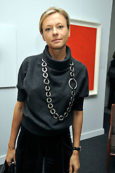 NATALIA NOSOVA at the Moet Hennessy Pavilion of Art & Design London Prize 2009 held in Berkeley Square, London on 12th October 2009.