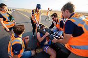 Op zondagavond vindt de eerste race plaats. Het Human Power Team Delft en Amsterdam, dat bestaat uit studenten van de TU Delft en de VU Amsterdam, is in Amerika om tijdens de World Human Powered Speed Challenge in Nevada een poging te doen het wereldrecord snelfietsen voor vrouwen te verbreken met de VeloX 9, een gestroomlijnde ligfiets. Het record is met 121,81 km/h sinds 2010 in handen van de Francaise Barbara Buatois. De Canadees Todd Reichert is de snelste man met 144,17 km/h sinds 2016.<br /> <br /> With the VeloX 9, a special recumbent bike, the Human Power Team Delft and Amsterdam, consisting of students of the TU Delft and the VU Amsterdam, wants to set a new woman's world record cycling in September at the World Human Powered Speed Challenge in Nevada. The current speed record is 121,81 km/h, set in 2010 by Barbara Buatois. The fastest man is Todd Reichert with 144,17 km/h.