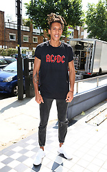 Tokio Myers arrives at a studio in west London, to help with the recording of a charity single after Simon Cowell pledged to record a new track within the next few days to help raise funds for those affected by the Grenfell Tower fire.