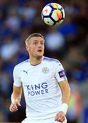 4 August 2017 -  Pre-Season Friendly - Leicester City v Borussia Monchengladbach - Jamie Vardy of Leicester City - Photo: Marc Atkins / Offside.