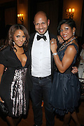 l to r: Marvet Britto, Emil Welbekin and Jocelyn Taylor at The 2009 NV Awards: A Salute to Urban Professionals sponsored by Hennessey held at The New York Stock Exchange on February 27, 2009 in New York City. ....
